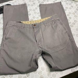 Pendleton Sz 32 Gray Slate Straight Leg Pants